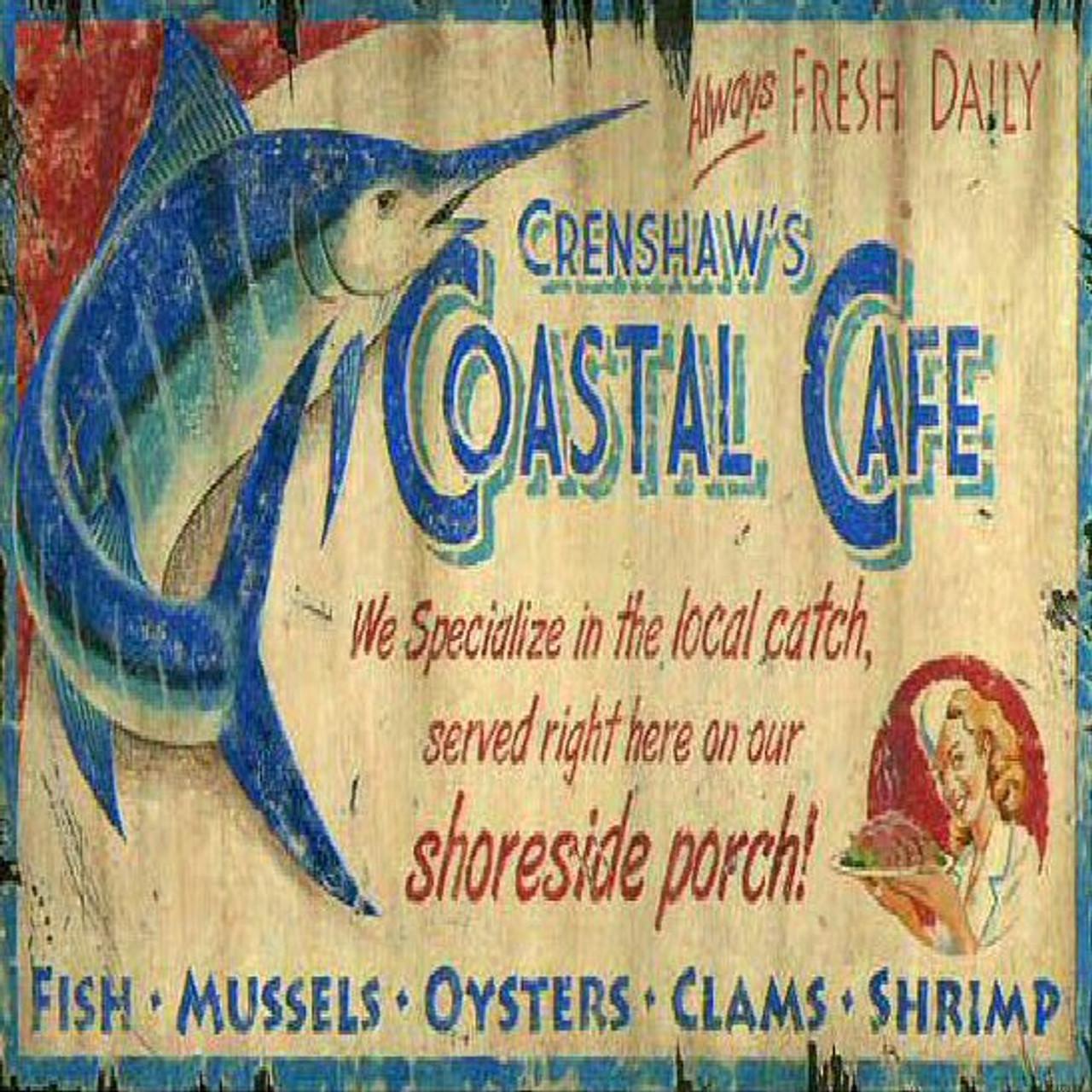 Coastal Metal Signs
