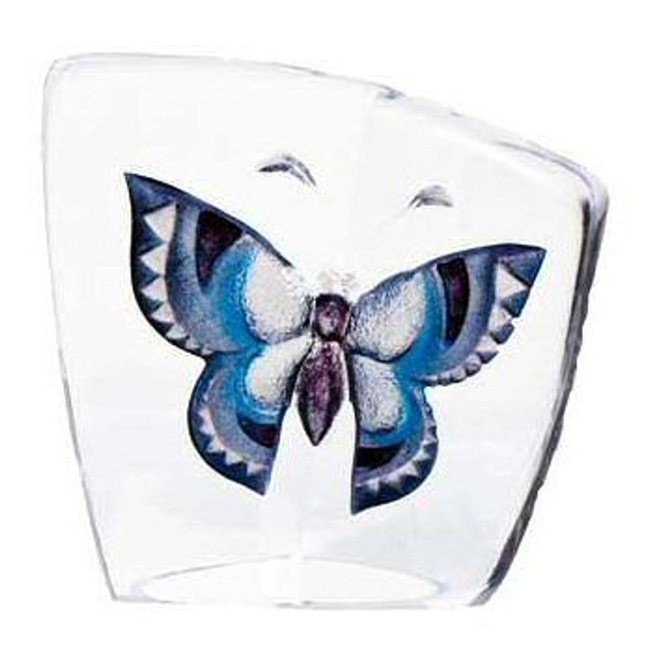 Mats Jonasson Crystal Butterfly Sculptures