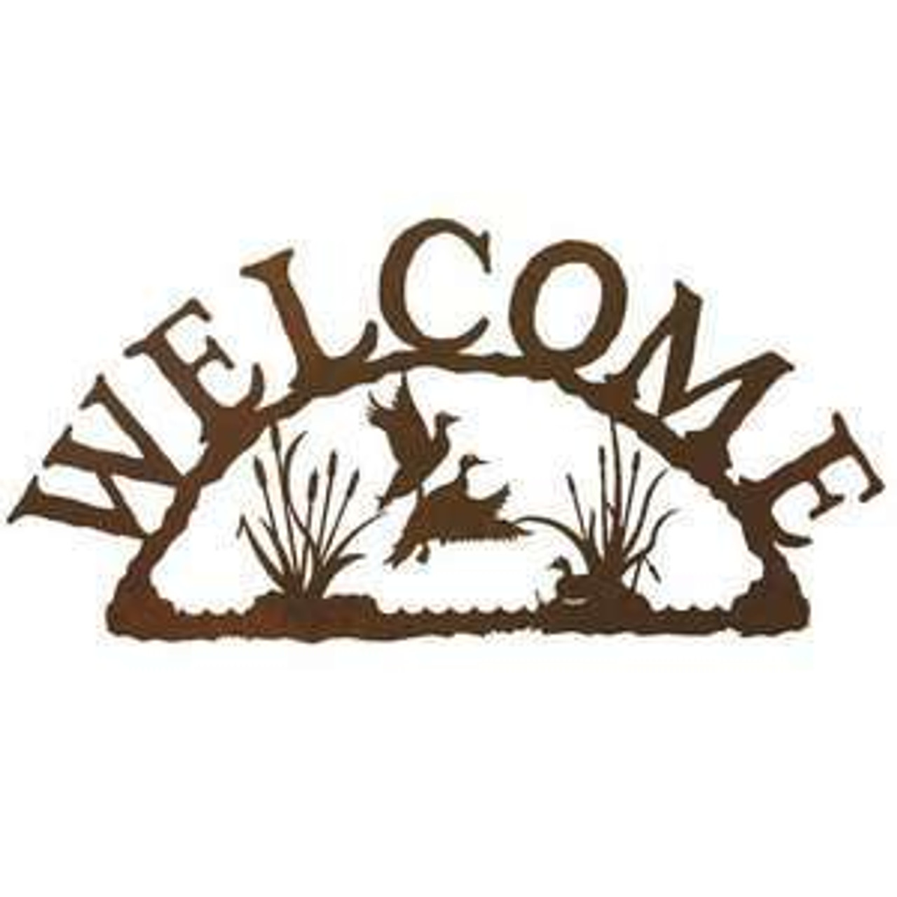 Wildlife Welcome Signs