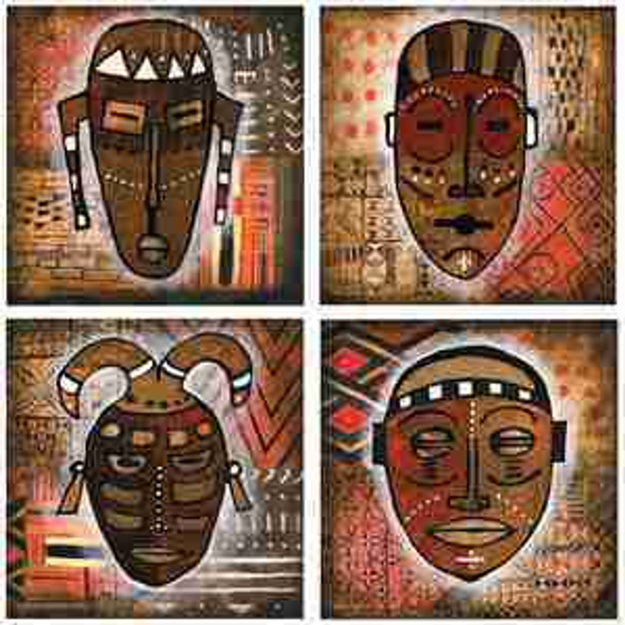 Tribal Coasters