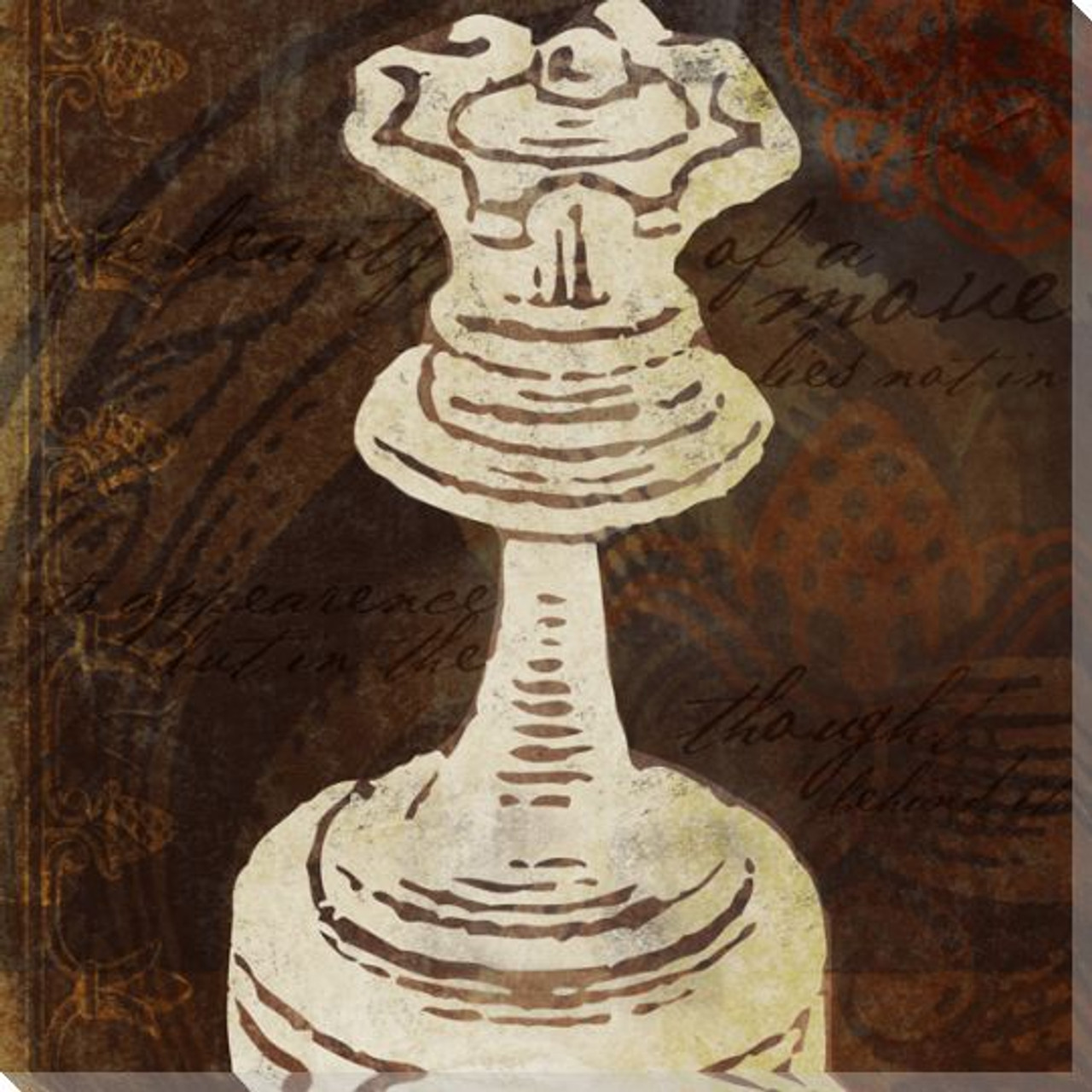 Queen Chess Piece Wrapped Canvas Giclee Print Wall Art ...