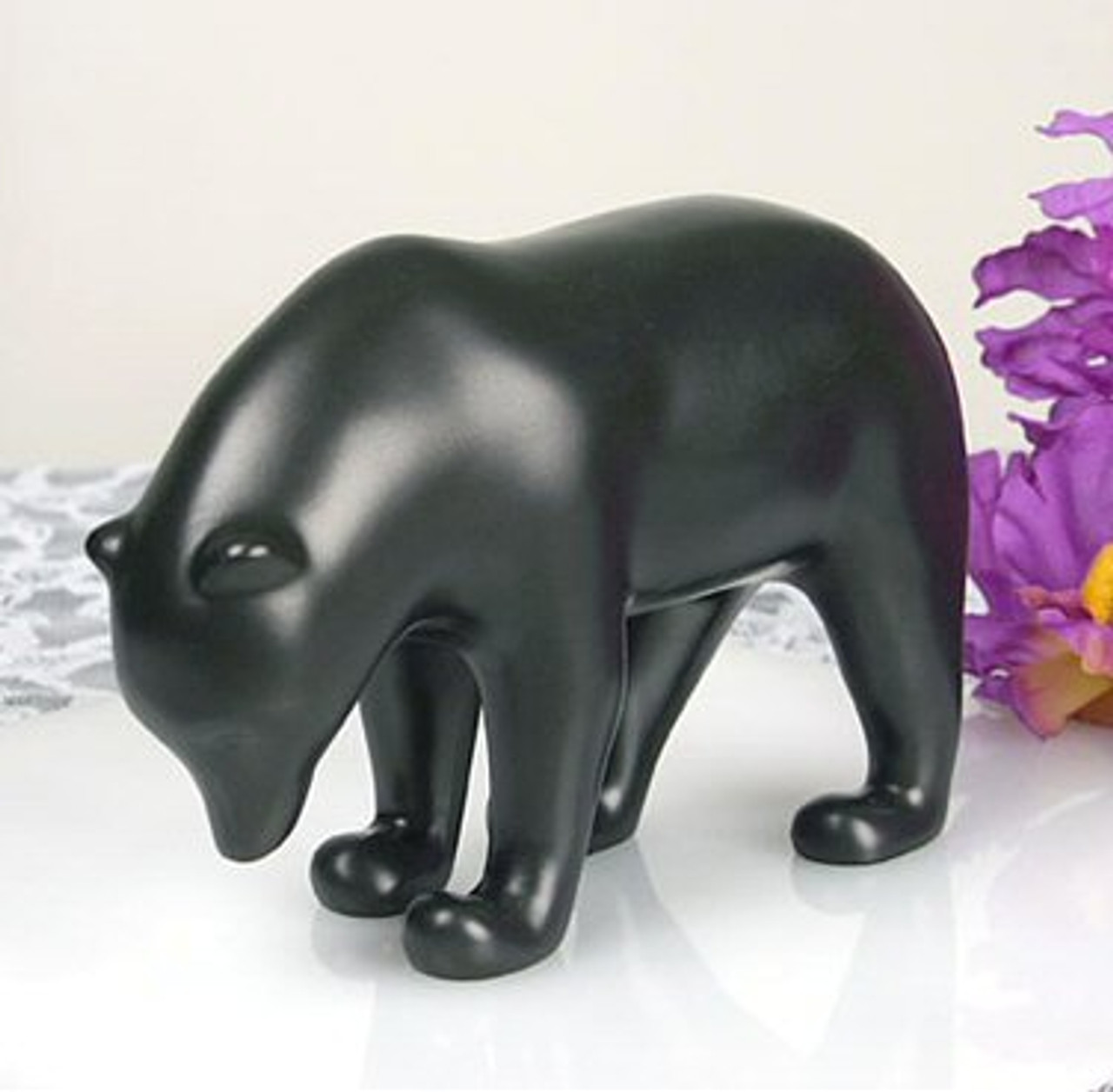 d1d840d432a Dark Brown Bear with Head Down Statue by Francois Pompon - Museum Art  Reproduction