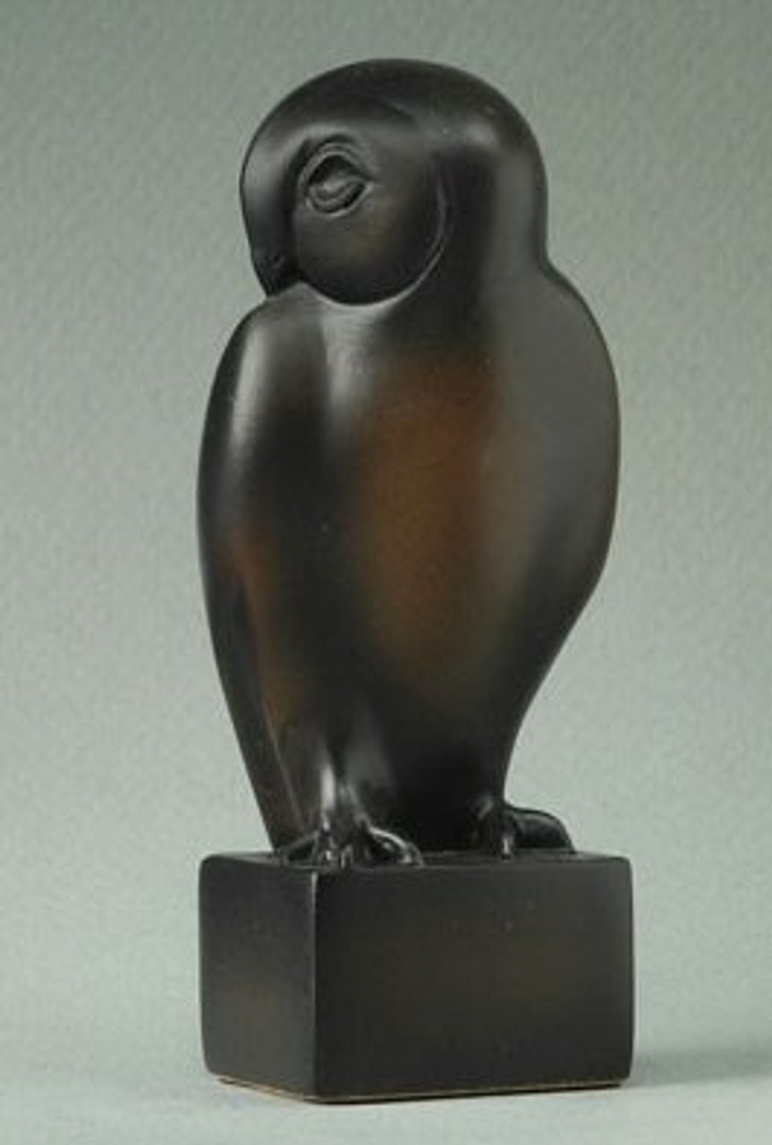 FRANCOIS POMPON Owl Bird Animal Art France Sculpture Statue Figurine Figure L
