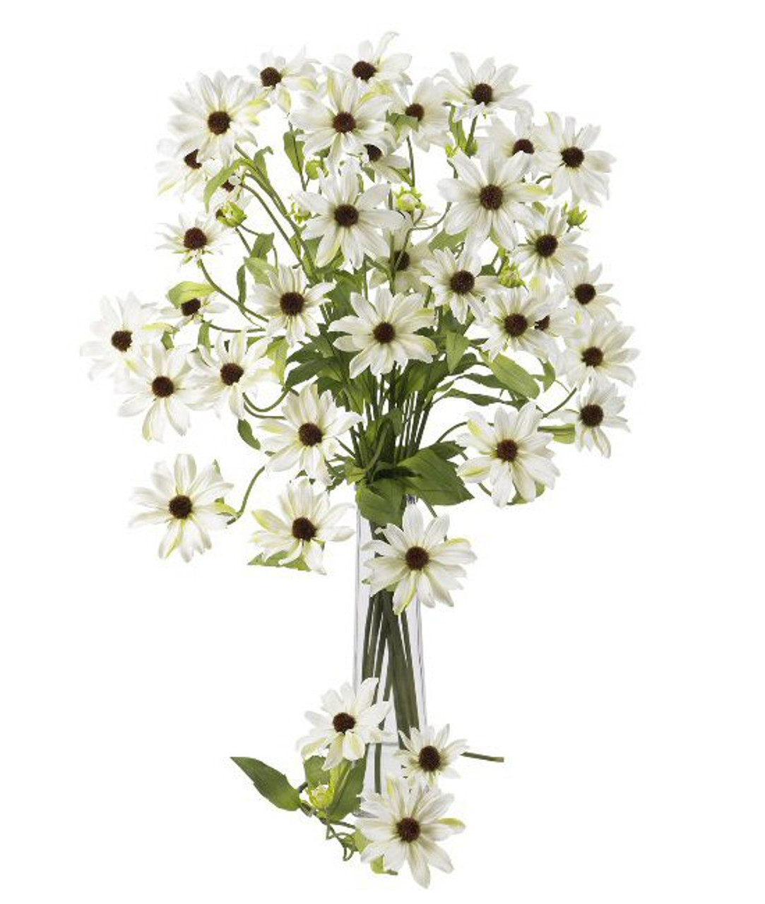 Nearly Natural 285 Cosmo Silk Flower Stem White Set Of 12