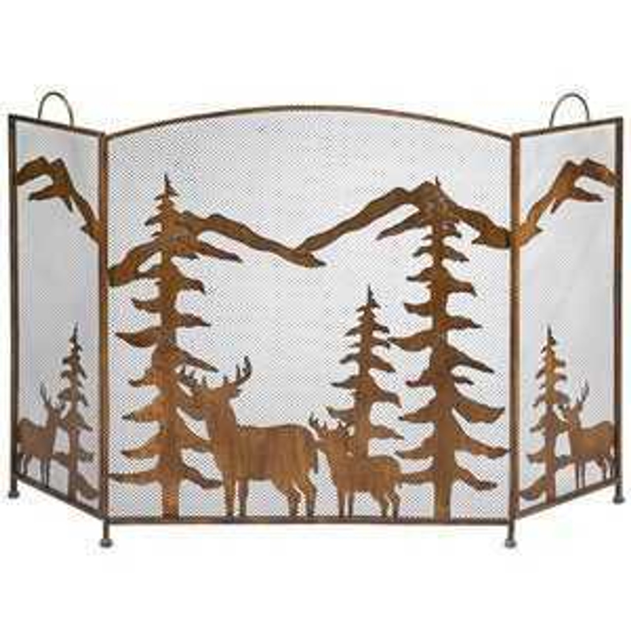 Wildlife Fireplace Screens & Accessories