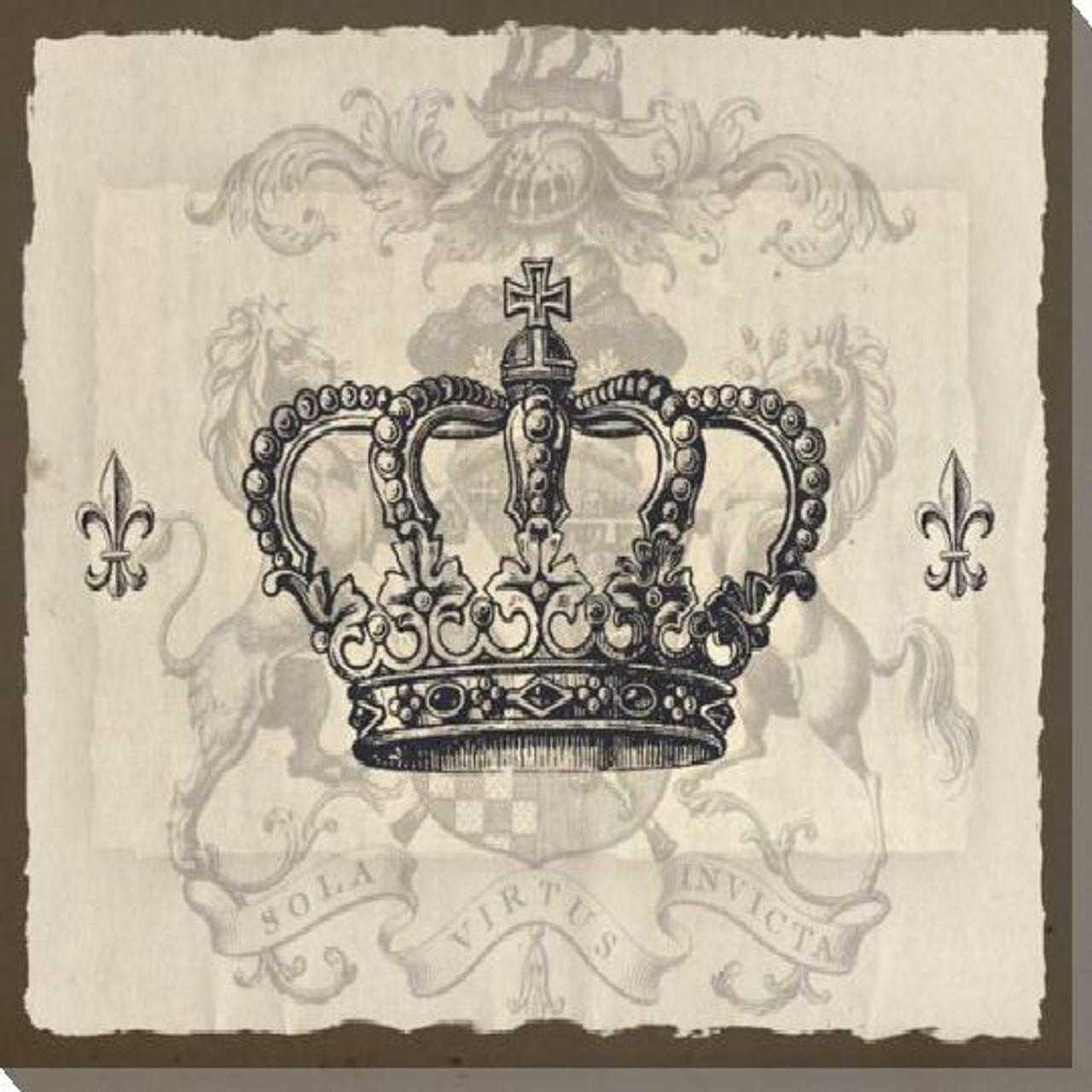 Crown Art Prints