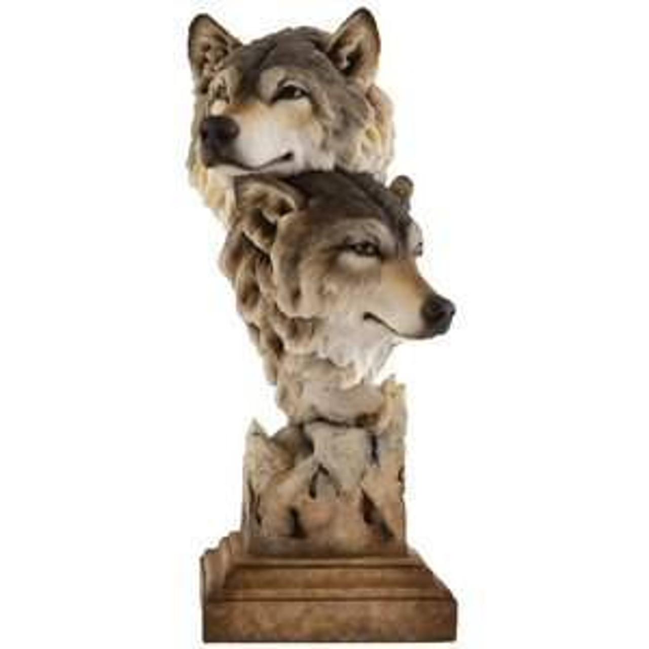 Wolf Sculptures