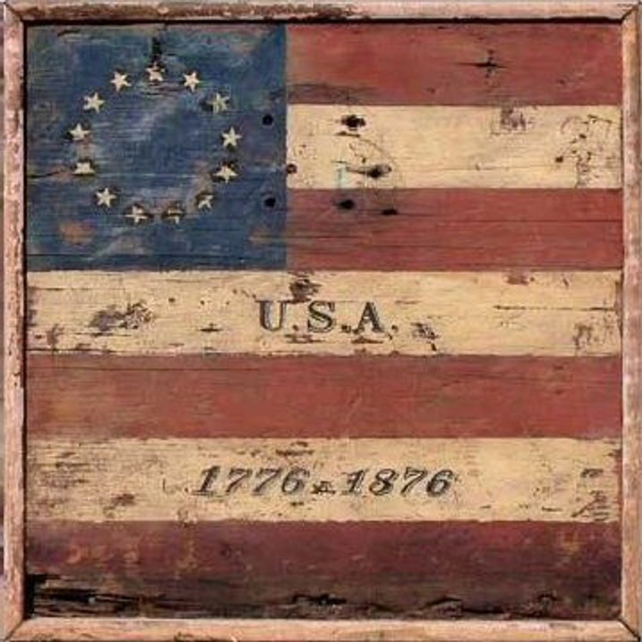 Patriotic Wood Signs