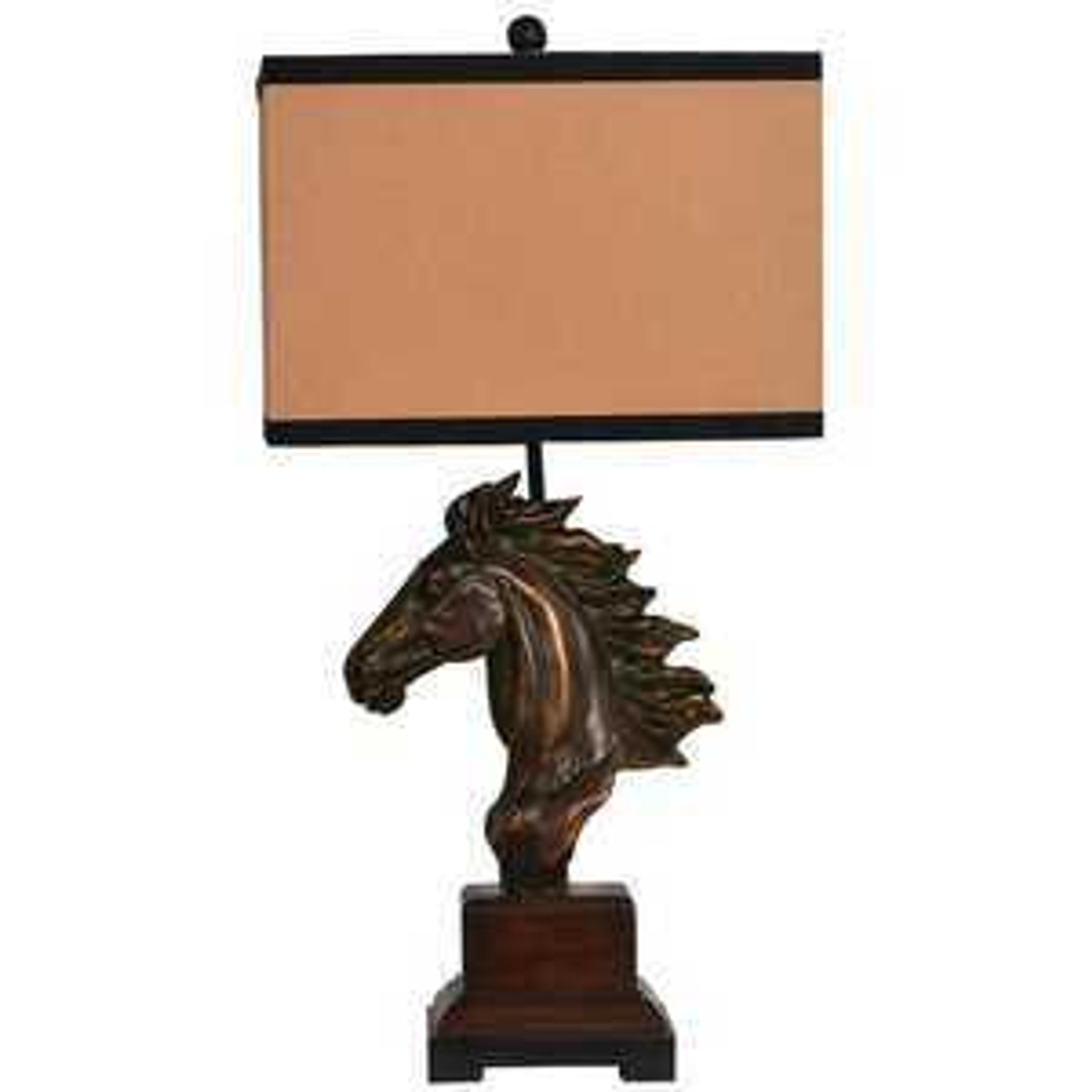 Western Table Lamps