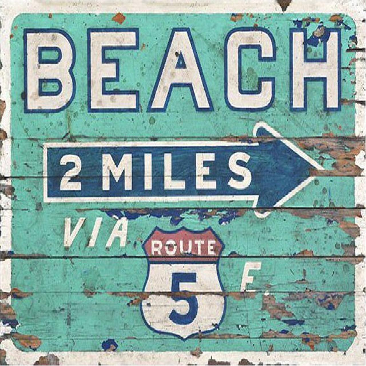 Beach Wood Signs