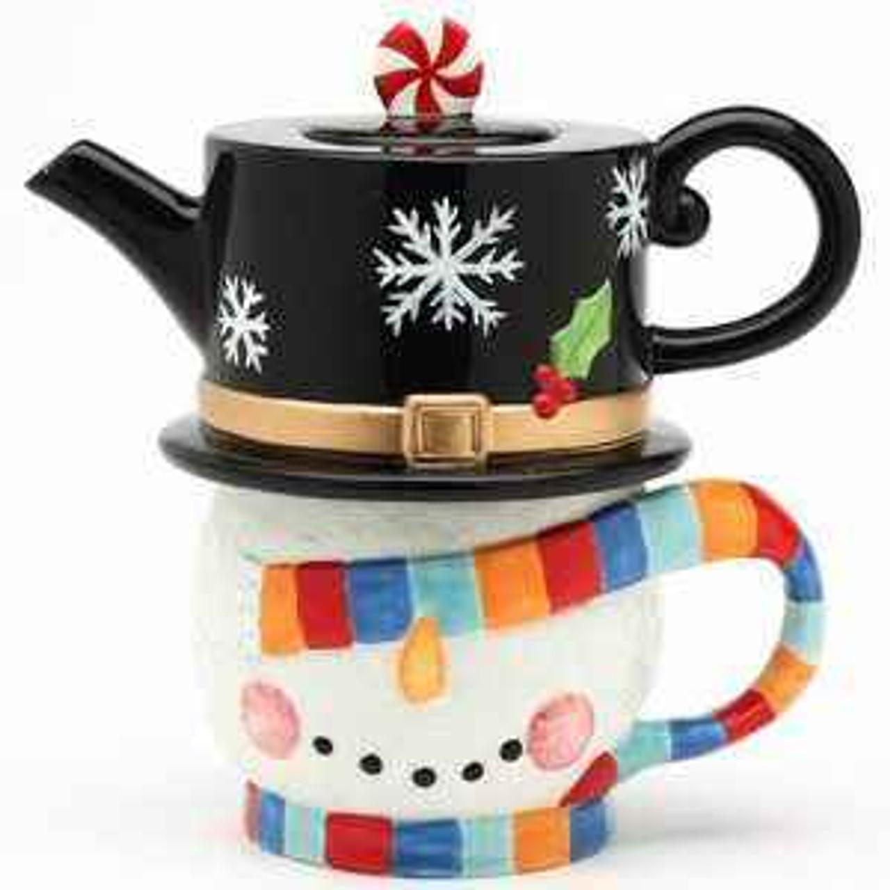 Christmas Teapots