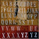 Letters Art Prints
