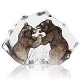 Mats Jonasson Crystal Wildlife Sculptures