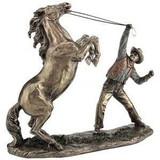Cowboy Sculptures