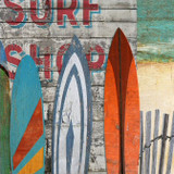 Surfing Wood Signs