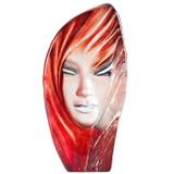 Mats Jonasson Crystal Masq Sculptures