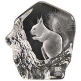 Mats Jonasson Crystal Rodents Sculptures