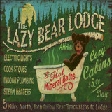 Cabin & Lodge Wood Signs
