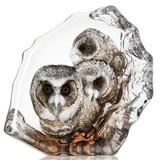 Mats Jonasson Crystal Birds Sculptures