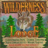 Cabin & Lodge Metal Signs