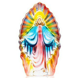 Mats Jonasson Crystal Religious Sculptures