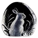 Mats Jonasson Crystal Rabbits Sculptures