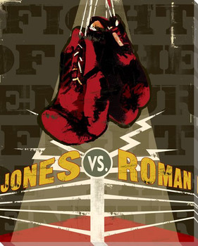 Jones Corner Boxing Wrapped Canvas Giclee Print Wall Art