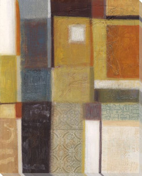 Vision Quilt II Wrapped Canvas Giclee Print Wall Art
