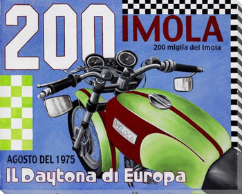 200 Imola Wrapped Canvas Giclee Print Wall Art