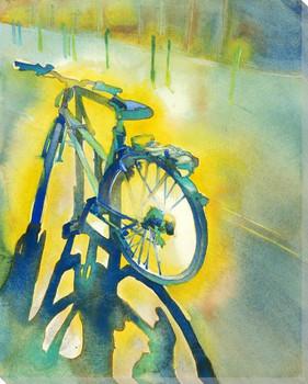 Velo Bike Wrapped Canvas Giclee Print Wall Art