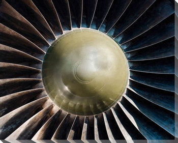 Turbine VI Wrapped Canvas Giclee Print Wall Art