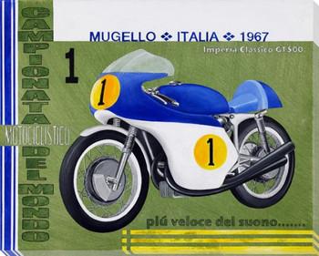 Mugello Italia Wrapped Canvas Giclee Print Wall Art