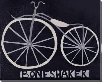 Boneshaker Bike Wrapped Canvas Giclee Print Wall Art