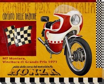 Grande Prix Dell Italia Wrapped Canvas Giclee Print Wall Art
