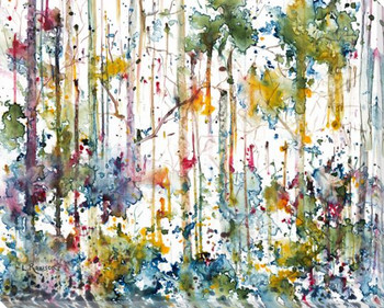 Hidden Grove II Wrapped Canvas Giclee Print Wall Art