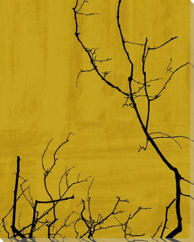 Tree Poetry Left Wrapped Canvas Giclee Print Wall Art