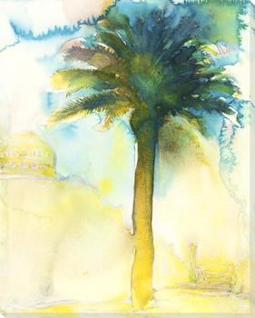 Tall Palm Tree Wrapped Canvas Giclee Art Print Wall Art