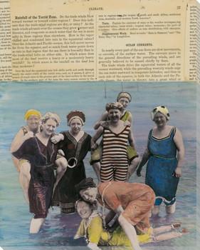 Oceana 1 Wrapped Canvas Giclee Print Wall Art