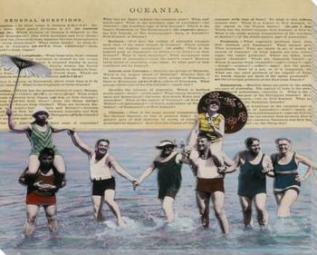 Oceana 2 Wrapped Canvas Giclee Print Wall Art