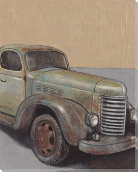 Vintage Truck I Wrapped Canvas Giclee Print Wall Art