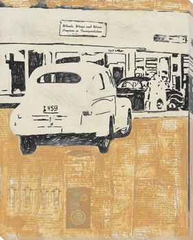 Drive to the Store Wrapped Canvas Giclee Print Wall Art