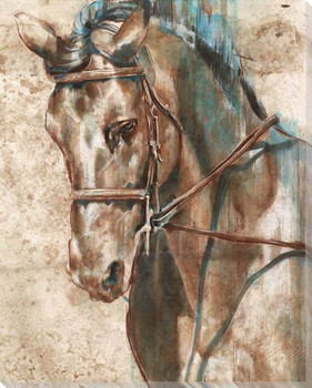 Horse 2 Wrapped Canvas Giclee Print Wall Art