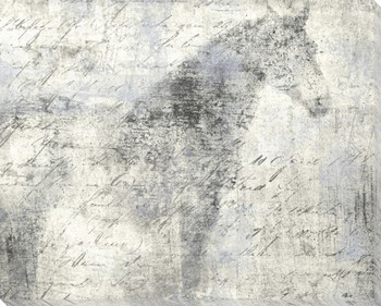 Equine Reverie Day Horse Standing Wrapped Canvas Giclee Print Wall Art