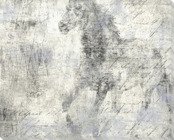 Equine Reverie Day Horse Trotting Wrapped Canvas Giclee Print Wall Art