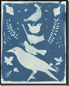 Fable Assorted Birds Wrapped Canvas Giclee Print Wall Art