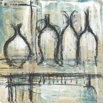 Archival Pottery 1 Wrapped Canvas Giclee Print Wall Art