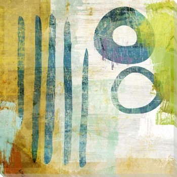 Counterbalanced 3 Wrapped Canvas Giclee Art Print Wall Art