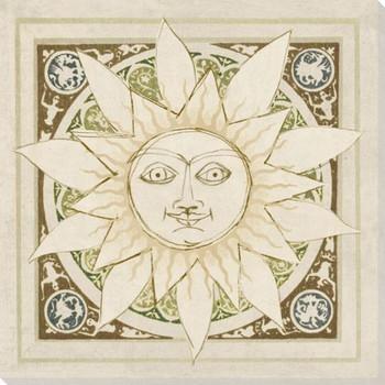 Autumn Suns Wrapped Canvas Giclee Print Wall Art