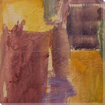 Autumn Splash Wrapped Canvas Giclee Print Wall Art