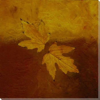 Autumn Leaves Four Wrapped Canvas Giclee Print Wall Art
